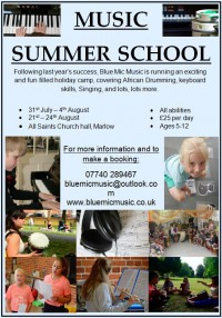 Music Summer School - August 2017