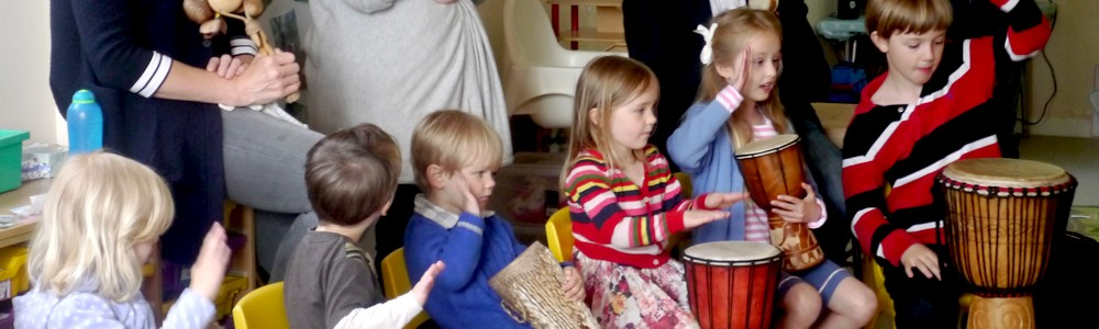 Musical birthday parties